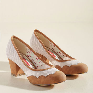 B.A.I.T. Footwear Just You Wave and See Block Heel