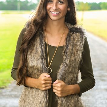Fur-Ever Mine Faux Fur Vest