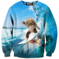 Sloth Surfer Sweatshirt