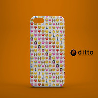 EMOJI LOVE Design Custom Case by ditto! for iPhone 6 6 Plus iPhone 5 5s 5c iPhone 4 4s Samsung Galaxy s3 s4 & s5 and Note 2 3 4