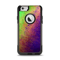 The Vivid Neon Colored Texture Apple iPhone 6 Otterbox Commuter Case Skin Set