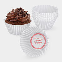 Fortune Cupcake Baking Cups