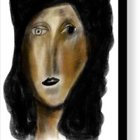 Picasso Woman 03 Canvas Print / Canvas Art by Bill Owen
