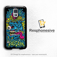 Volcom Jimbo Philips Apparel Clothing Samsung Galaxy S5 Case