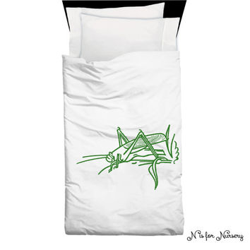Grasshopper Childrens Bedding | Home Decor | Grasshopper big  Children's Bedding Duvet Cover