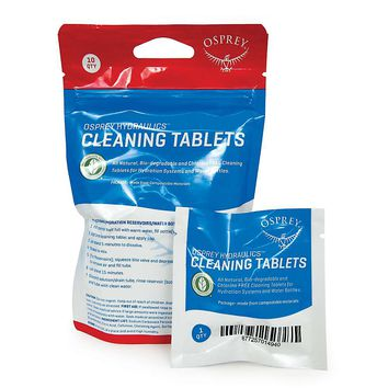 Osprey Hydraulics Cleaning Tabs - 10 Tube Pack