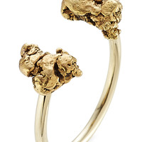 Golpira - Lakota 14kt Yellow Gold Ring with Gold Nuggets
