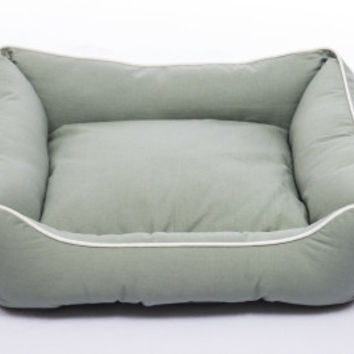 DOG BEDS & LOUNGERS - LOUNGER - ECO GREEN - SMALL - 22X20 - DOG GONE SMART PET PRODUCTS - UPC: 849670002590 - DEPT: DOG PRODUCTS