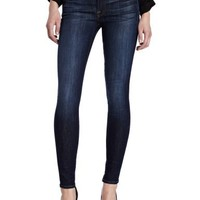 7 For All Mankind Women's Skinny Slim Fit Jean in Nouveau New York Dark, Nouveau New York Dark, 29