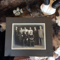 "Antique Photo ""Family Portrait"""
