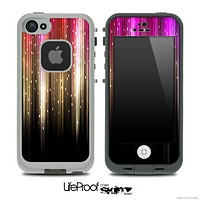 Neon Color Rain Skin for the iPhone 5 or 4/4s LifeProof Case