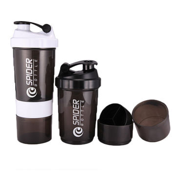 Fashion Sport Men Water Bottle Plastic Botle protein Shaker Bottle Drink Cup With Lid Sport jar cups My Bottle 500 ml SP002