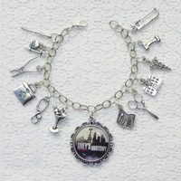 Greys Anatomy Inspired charm Bracelet