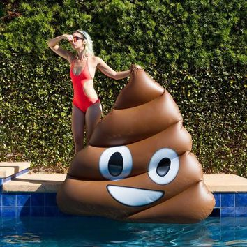 Poop Emoji Pool Inflatable