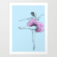 Ballet Study 31 Art Print by Rob Appleby