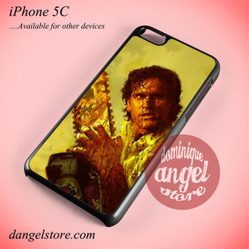Evil Dead Main Character Phone case for iPhone 5C and another iPhone devices