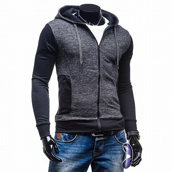 2016 Hoodies Men Sudaderas Hombre Hip Hop Mens Brand Upscale Slim Hedging Hoodie Sweatshirt Slim Fit Men Hoody 2XL WE