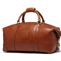 Leather Duffel Bags | Cavalier I No. 96 in Vintage Chestnut | Ghurka
