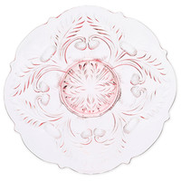 Inverted Thistle Platter, Rose, Serving Plates & Platters