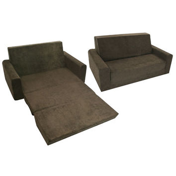 Komfy Kings, Inc 70133 Flip Sofa Micro Chocolate