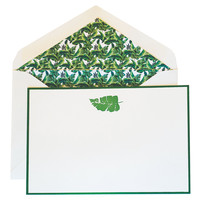 Milly Note Cards, Banana Leaf, Set of 10, Notecards