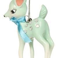 BAMBI XMAS ORNAMENT BLUE in *HOLIDAY ITEMS* at Sourpuss Clothing