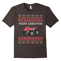 ATV 4 Wheeler Ugly Christmas T-shirt