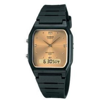 Casio Mens Gold Casual Classic Ana-Digi Timekeeping Watch