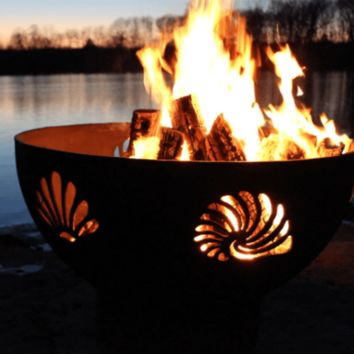 """Beachcomber 36"""" Fire Pit by Fire Pit Art"""