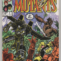 New Mutants Special Edition; V1, 1.  NM+.  1985.  Marvel COmics