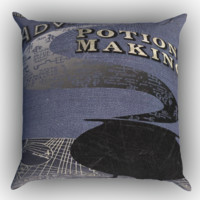 Harry potter potion making Zippered Pillows  Covers 16x16, 18x18, 20x20 Inches