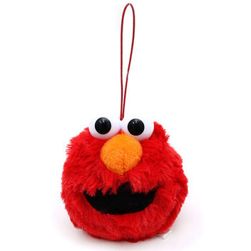 Elmo Face Hanging Doll