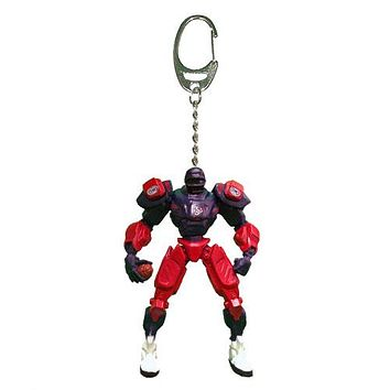 Houston Texans Keychain Fox Robot 3 Inch Mini Cleats