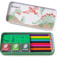 Finger Printing Art Set - Dinosaurs