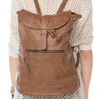 Brandy ♥ Melville |  Leather Backpack - Backpacks - Bags - Accessories