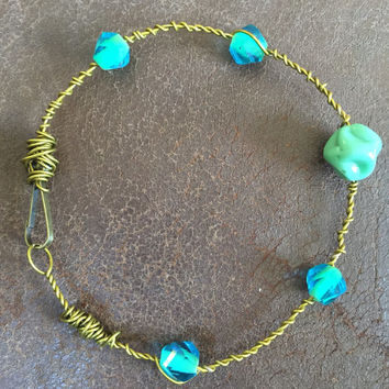 Malleable Copper Wire Anklet