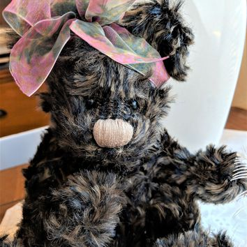 Ganz Cottage Collectible Signed 2000 Teri Zanetti Articulated Teddy Bear