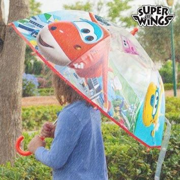 CREYH2N Super Wings Clear Bubble Umbrella
