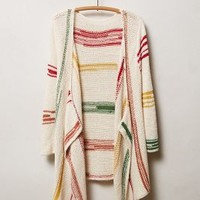 Rhumerie Cardigan by Anthropologie Neutral Motif