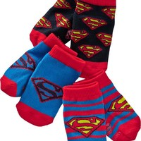 Pop-Culture Ankle-Sock 3-Packs for Baby