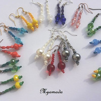micromacrame   Earrings