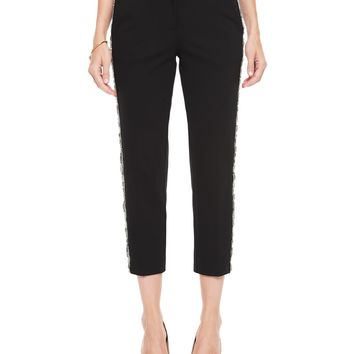 Embellished Ponte Crop Pant by Juicy Couture