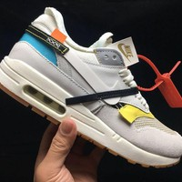 Nike Air Max 1 X Off-White White Running Shoes