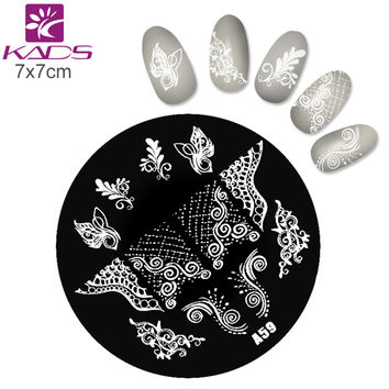 A Series A59 butterfly wing Nail Art Polish DIY Stamping Plates Image Templates Nail Stamp Stencil stamping plates nail for nail