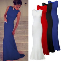 Long Party Sleeveless Maxi Dress