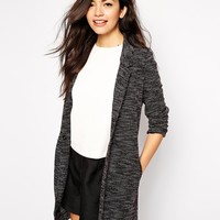 New Look Salt And Pepper Duster Jacket at asos.com