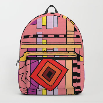 rising star Backpack by Valentina Kolar V.OneS