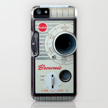 Brownie 8mm Movie Camera iPhone Case by Typography Photography™ | Society6