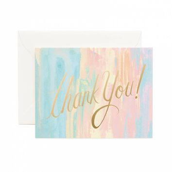 Watercolor Greeting Card by RIFLE PAPER Co. | Made in USA