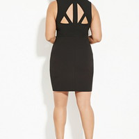 Plus Size Cutout Sheath Dress | Forever 21 PLUS - 2000150320